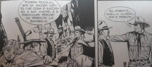 "Vignetta di Maurizio Dotti da Tex 662 ""Carovana di audaci""."