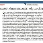 L'articolo di Michela Murgia